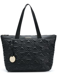 Emporio Armani Quilted Shoulder Bag Black
