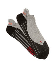 Falke Ru4 Invisible Running Socks Grey Multi