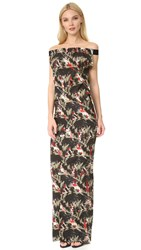 Zero Maria Cornejo Long Revi Dress Flora Black