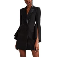 Prabal Gurung Crepe Blazer Style Sheath Dress Black