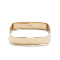 J.Crew Bent Square Bangle Bracelet Bronze