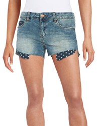 Sl8 Star Pocket Jean Shorts Low Key