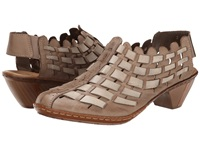 Rieker 46778 Sina 78 Taupe Women's Slip On Shoes
