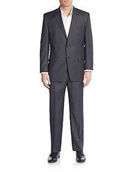 Lauren Ralph Lauren Regular Fit Solid Wool Suit Grey