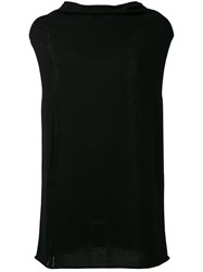Lost And Found Ria Dunn Sleeveless Jumper Black