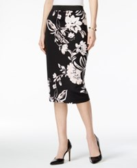 Alfani Printed Pencil Skirt Only At Macy's Timeless Floral