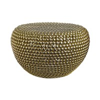 Pols Potten Low Dot Stool Brass