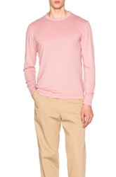 Our Legacy Long Sleeve Duo Tee In Pink