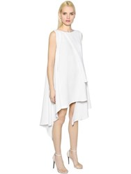 Maticevski Asymmetric Layered Fluid Crepe Dress