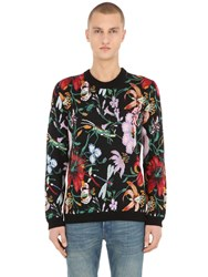 Gucci Wool Blend Jacquard Sweater Multicolor