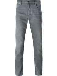 Versace Collection Slim Fit Jeans Grey
