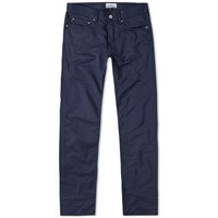 Stone Island Garment Dyed Slim Chino Blue