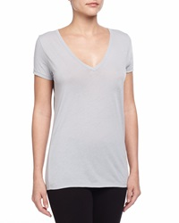 Skin Easy V Neck Cotton Tee