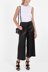 Adam By Adam Lippes Women S Cropped Wide Leg Trousers Boutique1 Black