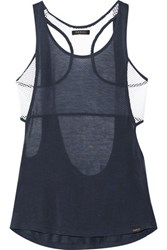 Koral Paneled Stretch Knit Tank Midnight Blue