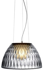 Estiluz E Llum Pendant Light T 5654 Small 11.9 In D Incandescent 47 Brushed Nickel Transparent