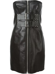 Alexander Wang Strapless Corset Dress Black