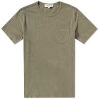 Ymc Wild Ones Slub Pocket Tee Green