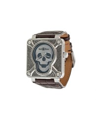 Bell And Ross 'Br 01 Burning Skull' Watch