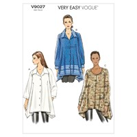 Vogue 'S Blouse Sewing Pattern 9027