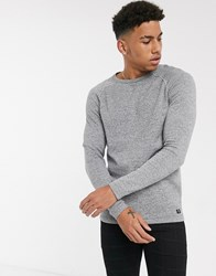 Tom Tailor Knitted Jumper In Grey
