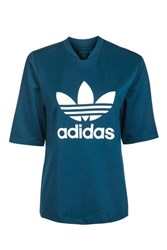 Adidas Short Sleeve T Shirt By Originals Blue
