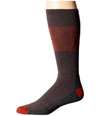 Wigwam Broken Arrow Pro Charcoal Men's Crew Cut Socks Shoes Gray