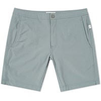 Onia Calder 7.5 Solid Swim Short Green
