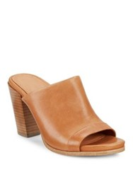 Gentle Souls Serella Leather Mules Cognac