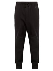 Y 3 Future Craft Cotton Jersey Track Pants Black