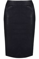 Alice And You Pu Pencil Skirt Black