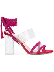 Ritch Erani Nyfc Christina Sandals Pink And Purple