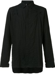 Barbara I Gongini Oversized Shirt Black