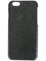 Maison Martin Margiela Logo Embossed Iphone 6 Case Black