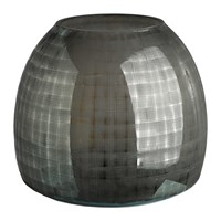 Pols Potten Checkered Grey Vase