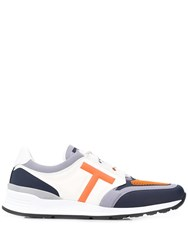 Tod's Colour Block Low Top Trainers White