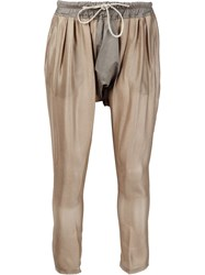 Vivienne Westwood Gold Label 'Calmo' Trousers Nude And Neutrals