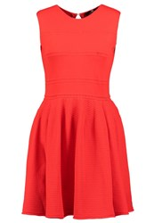 Elisabetta Franchi Jumper Dress Lacca Red