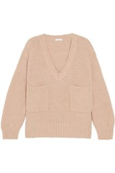 Chloe Oversized Knitted Sweater Antique Rose