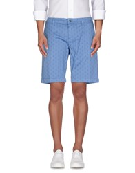 Siviglia Trousers Bermuda Shorts Men Pastel Blue