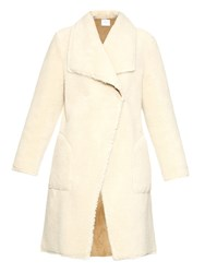 Velvet By Graham And Spencer Teddy Reversible Faux Shearling Coat