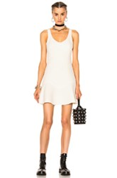 Alexander Wang Fitted Tank Dress In White