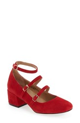 Chinese Laundry Women's 'Moto' Mary Jane Pump Red