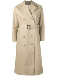 Mackintosh Fawn Bonded Cotton Long Trench Coat Lr 091 Idj09 Fawn