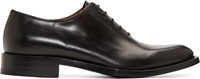 Givenchy Black Leather Oxfords