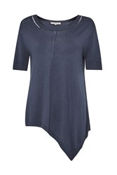 Great Plains Katherine Silk Mix Sweater Blue