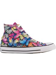 Converse Butterfly High Top Sneakers Multicolour