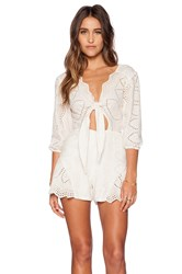 Jens Pirate Booty X Revolve Clementine Romper Ivory