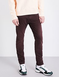 Replay Anbass Colours Slim Fit Skinny Jeans Burgundy