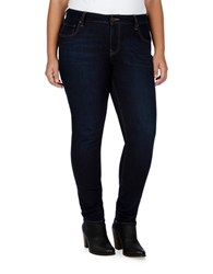 Lucky Brand Plus Monte Ginger Skinny Jeans Blue
